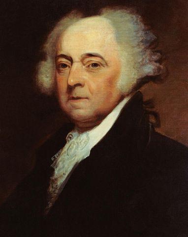 President John Adams (image)