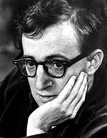 Woody Allen in the 1970s (image)